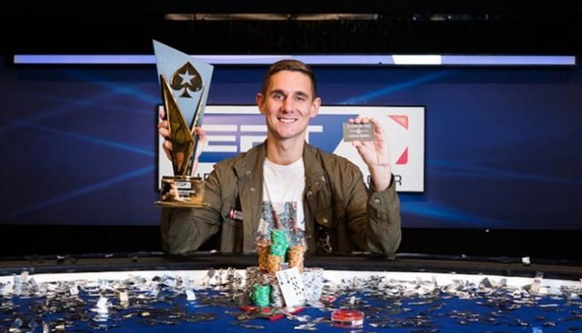 EPT 2018's overall winner, Piotr Nurzynski