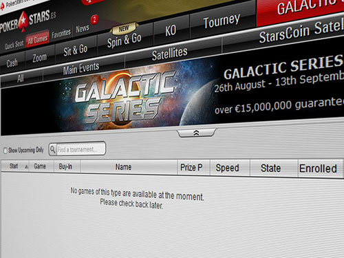 PokerStars Galactic Series