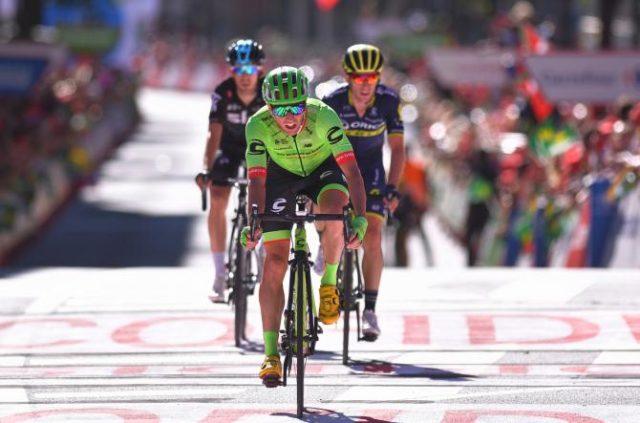 Mike Woods Vuelta a España