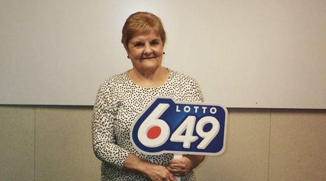 Local Edmonton lady wins lotto
