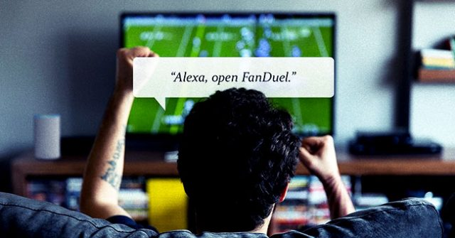 FanDuel Launches Alexa-Based Sports Betting App