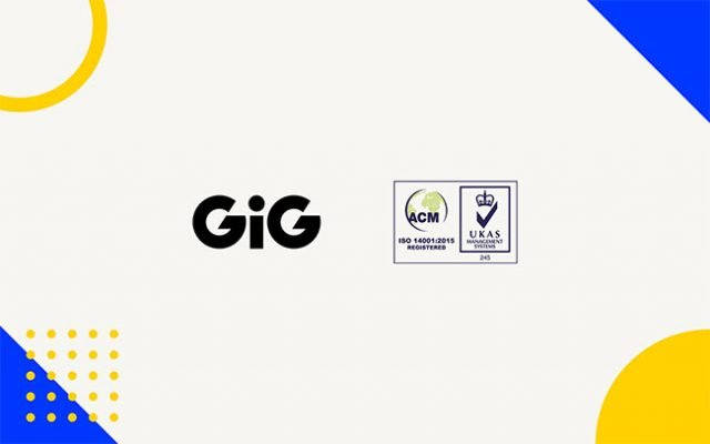 GiG awarded ISO certification