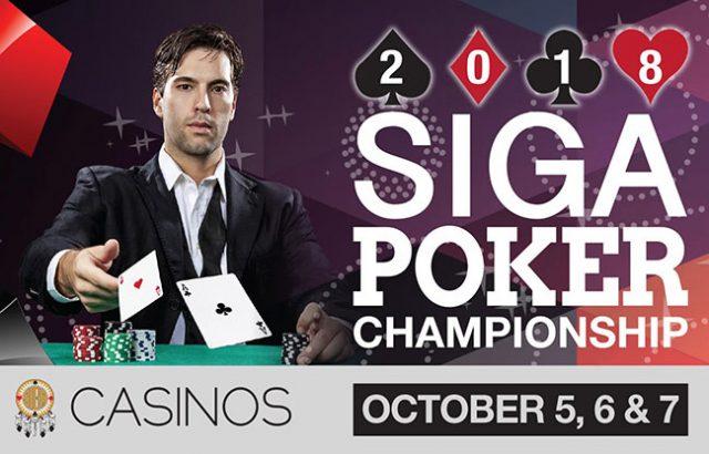 SIGA Poker Championship 2018