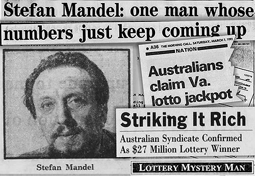 Stefan Mandel created a lot of headlines due to his controversy winning the lotto 14 times