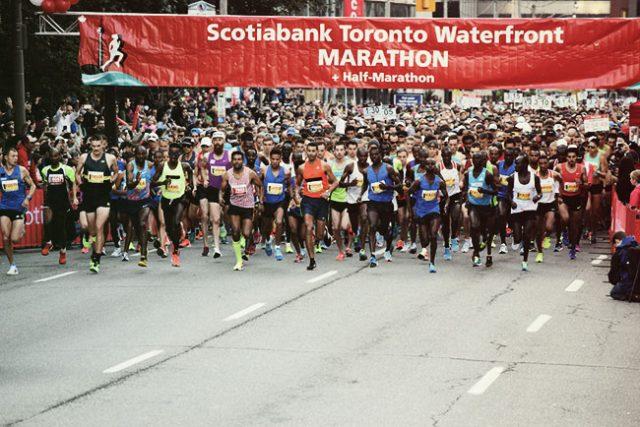 Toronto Marathon Runners Smash Records