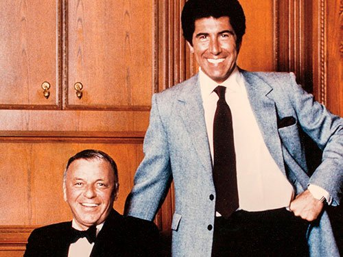 Steve Wynn and Frank Sinatra in the Golden Nugget