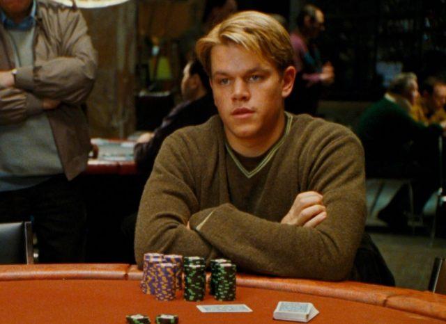 Rounders Matt Damon