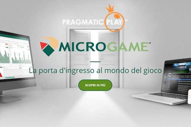 Pragmatic Play join forces with Microgame and enter Italian market