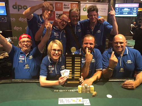 Team Auckland at the Deaf Poker Australia (DPA) Championships