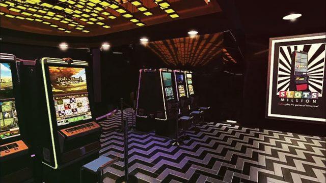 Inside a VR Casino