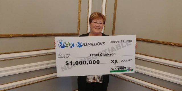 Ethel Clarkson Lotto Winner Canada