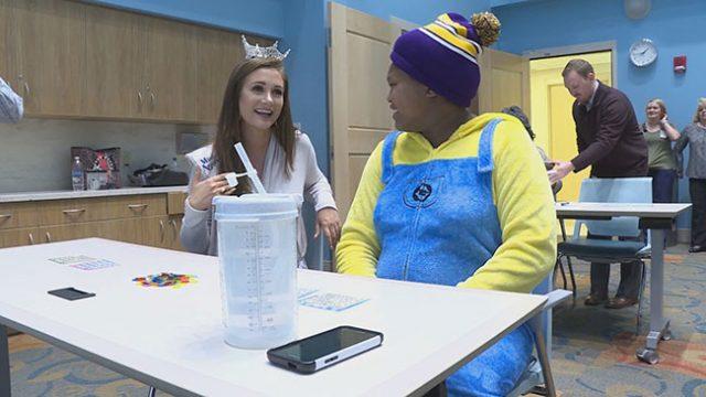 Miss North Carolina Hosts Hospital Bingo