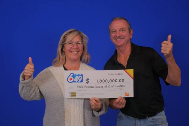 Hamilton lottery winners