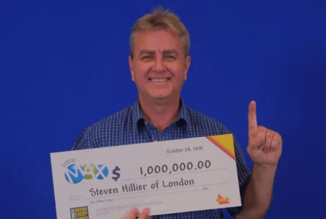 Steve Hillier Lotto Win