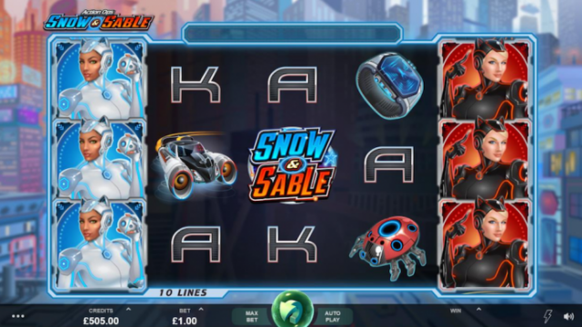 Microgaming Unveils New Action Ops: Snow & Sable Slot