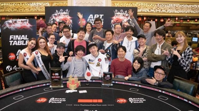 2018 Asian Poker Tour Mikiya Kudo