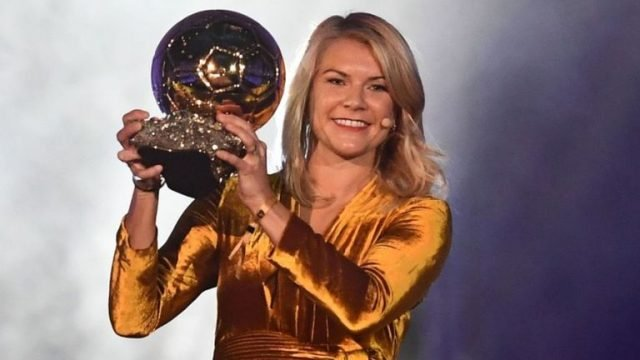 Ada Hegerberg winner of the Ballon d'Or
