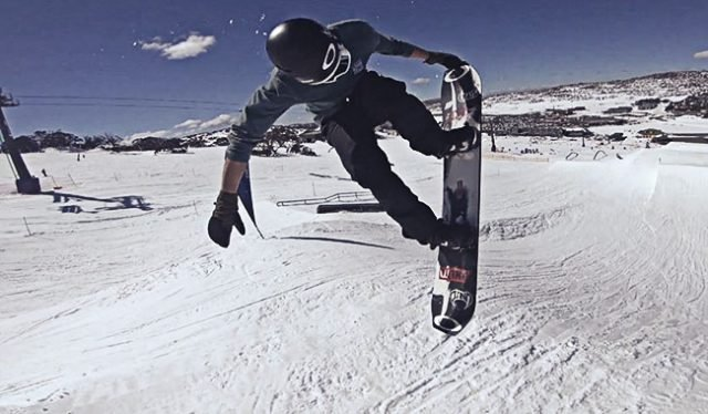 Sharpe Snowboarding His Way to the Top