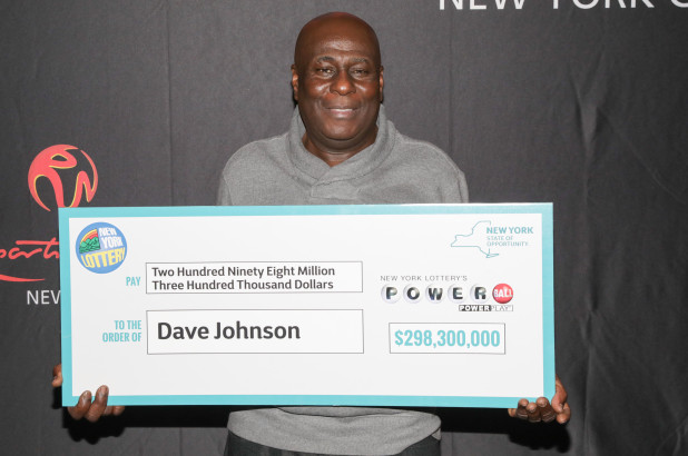 David Johnson Wins $289m in Powerball