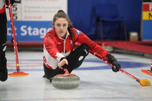 Jones Improves at CA Junior Curling Champs