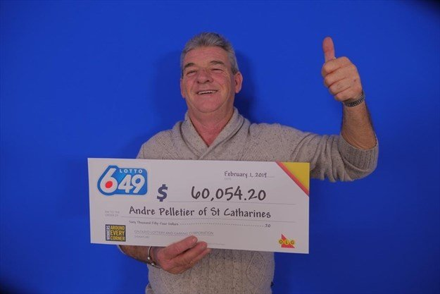St. Catharines Truck Driver Wins $60,000