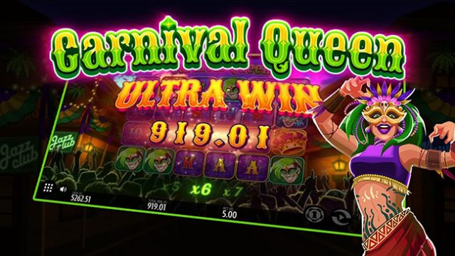 Explore New Orleans in the Carnival Queen Slot