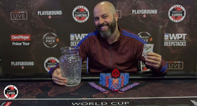 Danny Ibrahim Wins World Cup Of Cards