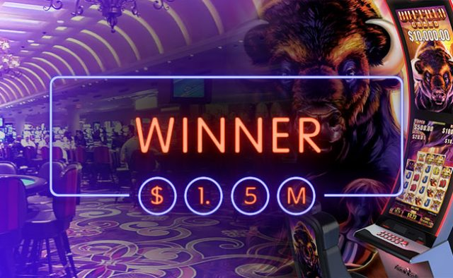$1.5m Buffalo Grand Slot Jackpot Won