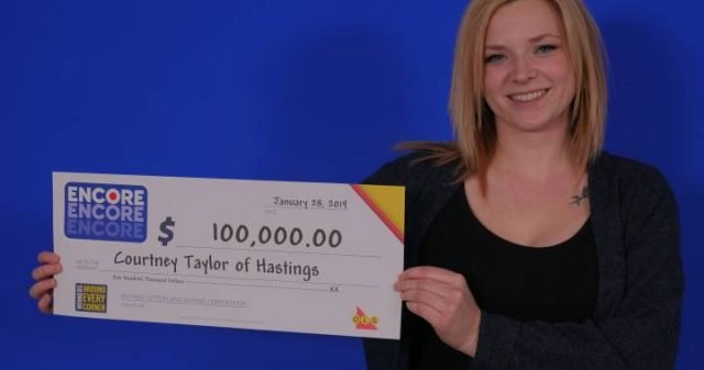 Ontario Woman Pockets $100k Lotto Win
