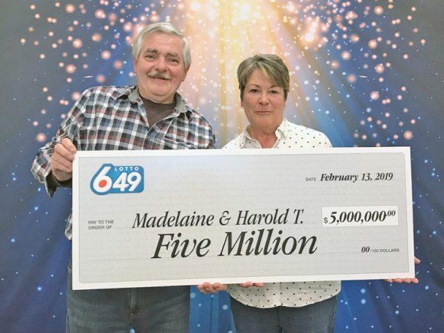Port Alberni Couple Hits $5m Jackpot