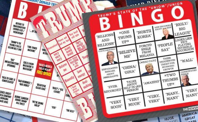 State of the Union Bingo A Big Hit