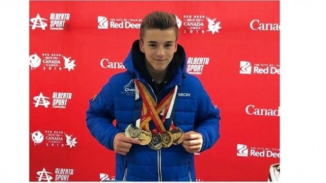 Felix Dolci's New Winter Games Record