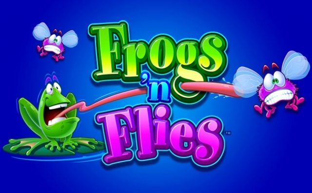 Frogs ' Flies Game Logo