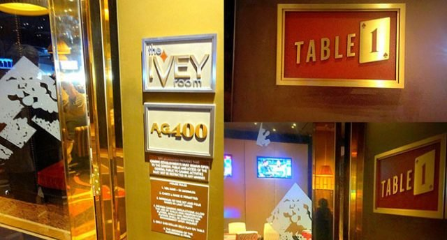 Aria Removes Ivey's Name From Poker Room