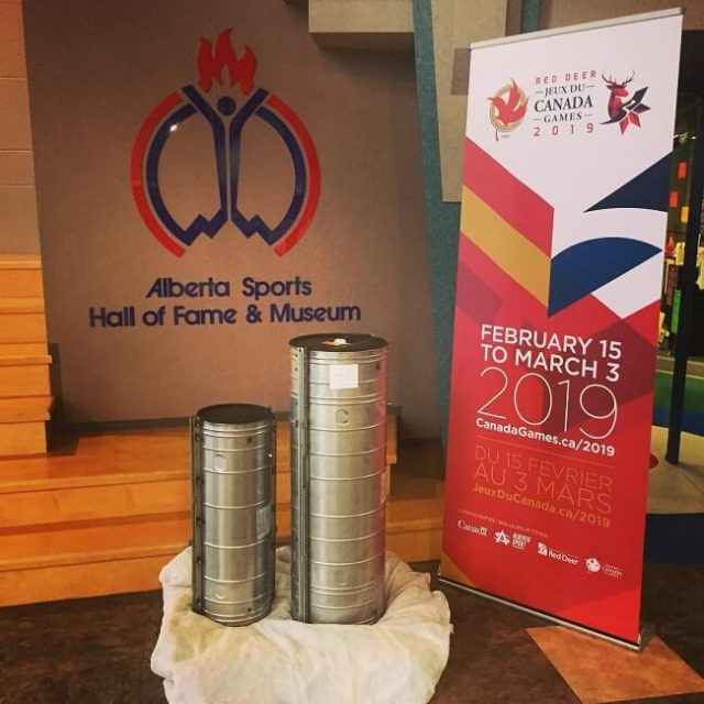 1995 Winter Games Time Capsule On Display