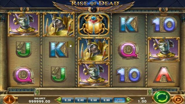 Play n GO lance la nouvelle machine à sous Rise Of Dead