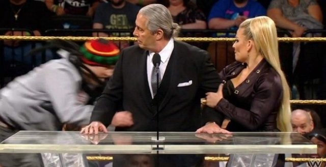 Bret Hart Attacked During Hall Of Fame Speech