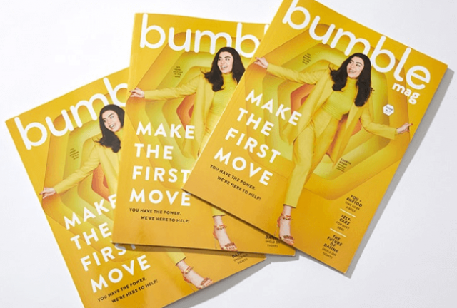 Bumble Seeks To Diversify Business With Magazine