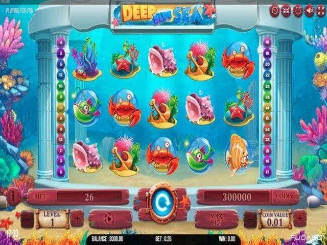 Deep Blue Sea Online Slot