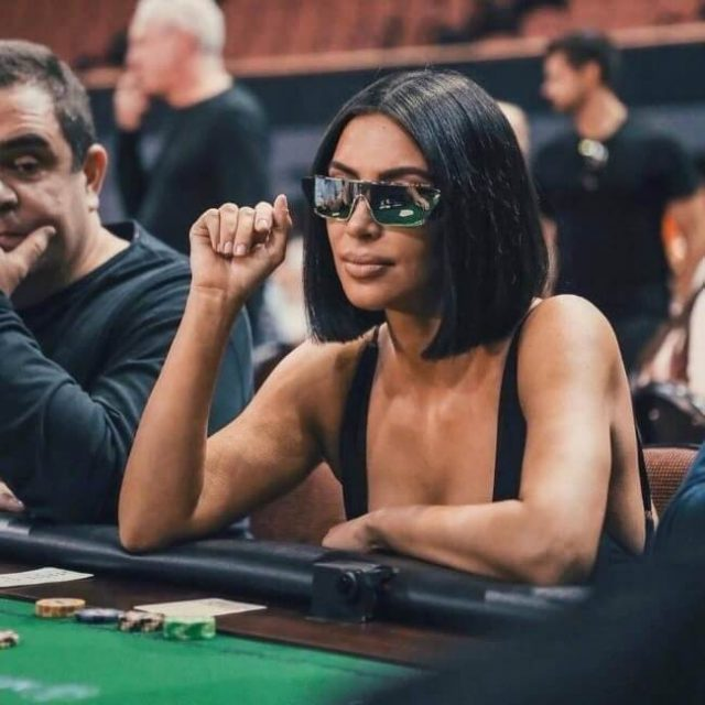 Kim Kardashians Poker Eyewear Choice Panned