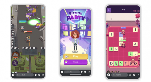 New Social Games Feature Launched On Snapchat