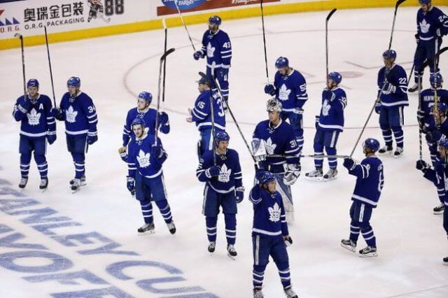 Stanley Cup Curse Alive As Leafs Leave Playoffs