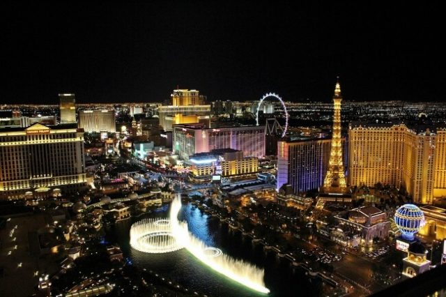 snowstorms affect vegas profits