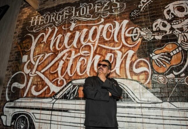 George Lopez Behind New Casino Eatery