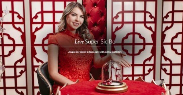 Live Super Sic Bo By Evolution Set To Impress