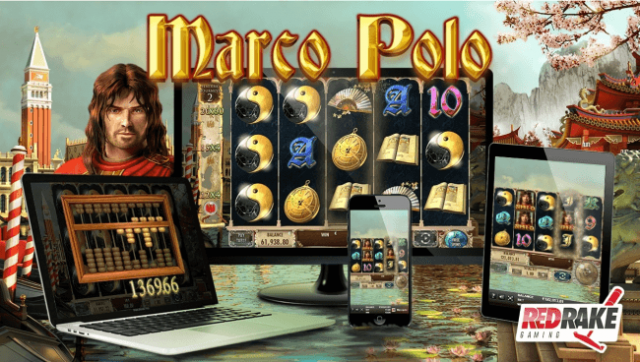 Marco Polo Red Rake Gaming Slot Goes Live