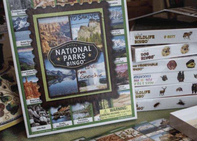 National Parks Bingo Game Aids Conservation