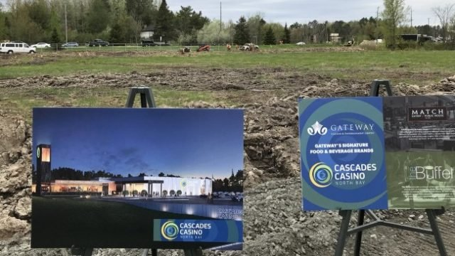 Construction Of Cascades Casino Now Underway