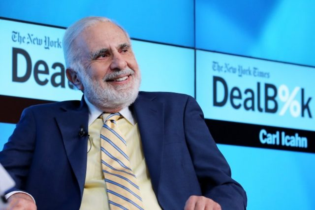 Icahn Disagrees With Caesars About Shares