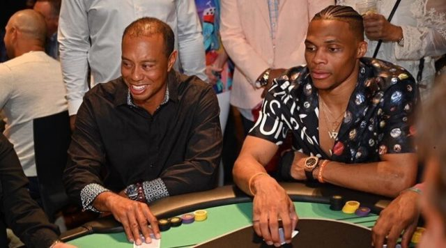 Tiger Woods Fails To Make The Cut At Own Poker Event
